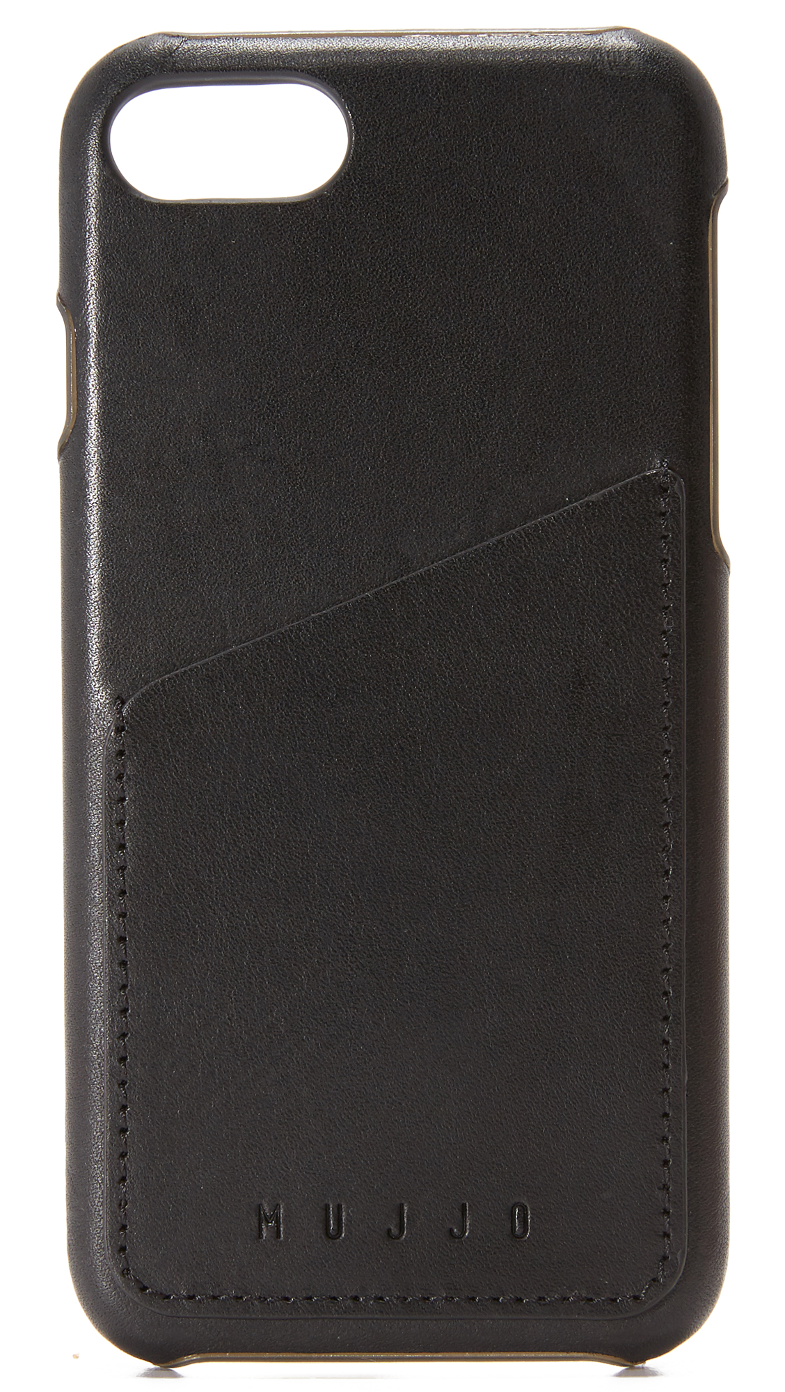 Mujjo Leather Wallet Iphone 7 Case - Black at Shopbop