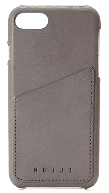 Mujjo Leather Wallet iPhone 7 Case