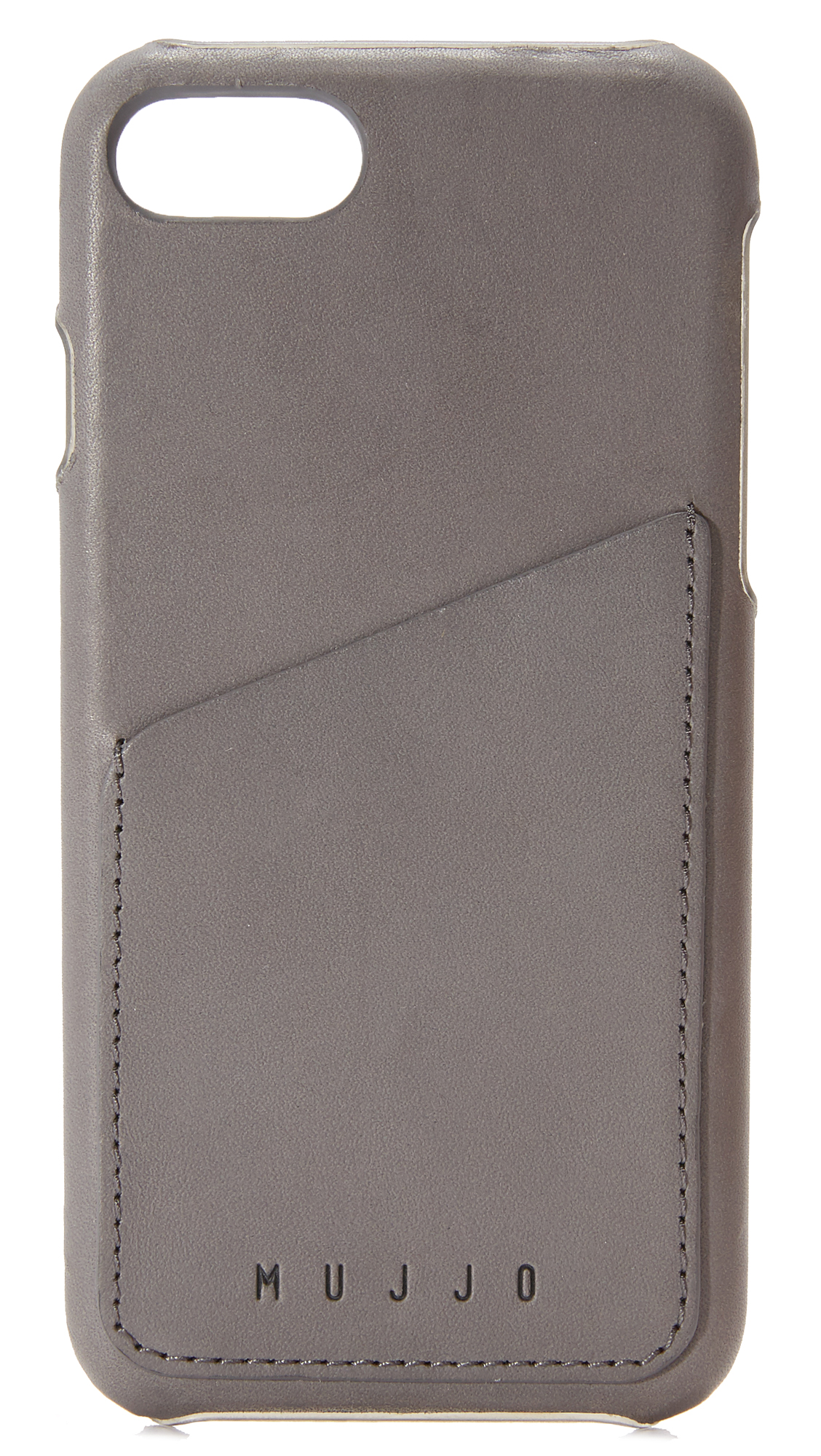 Mujjo Leather Wallet Iphone 7 Case - Grey at Shopbop