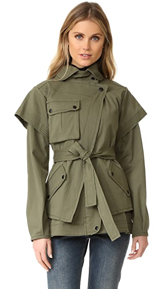 Marissa Webb Fletcher Canvas Jacket
