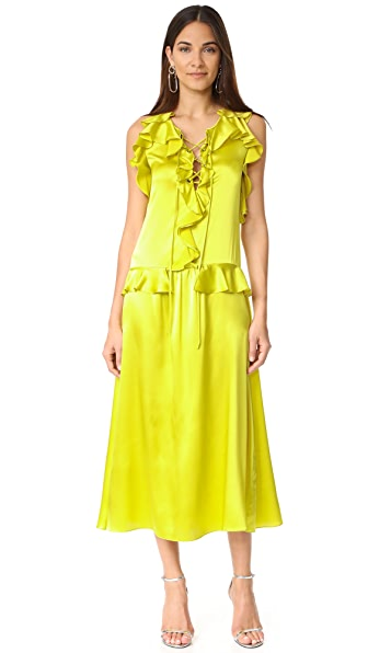 Marissa Webb Saige Dress - Citron