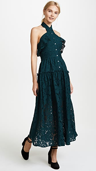 Marissa Webb Elias Bloom Lace Dress