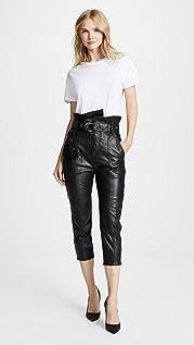 Marissa Webb Anniston Leather Pants