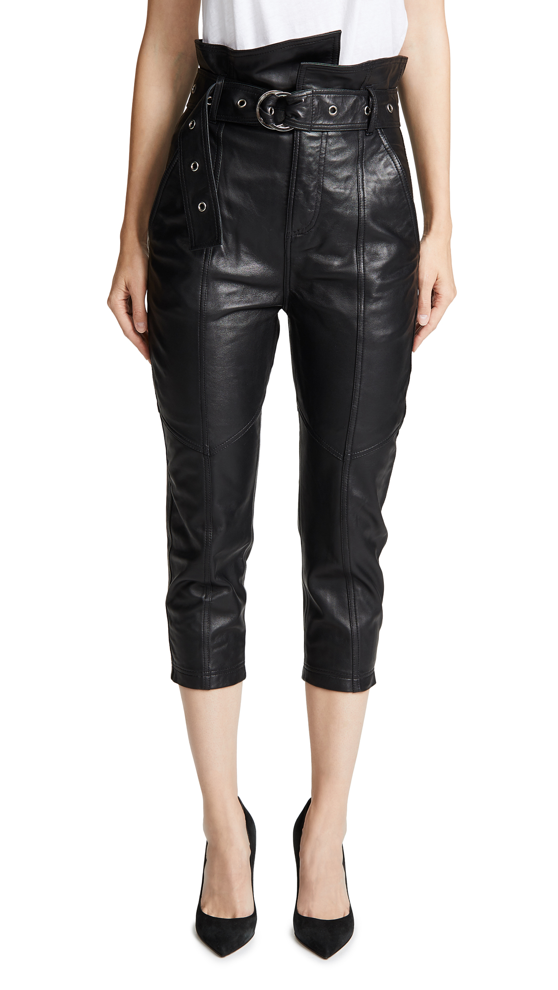 ANNISTON LEATHER PANTS