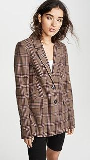 Marissa Webb Olson 格子西装外套