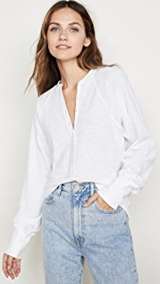 Marissa Webb So Uptight Thermal Henley