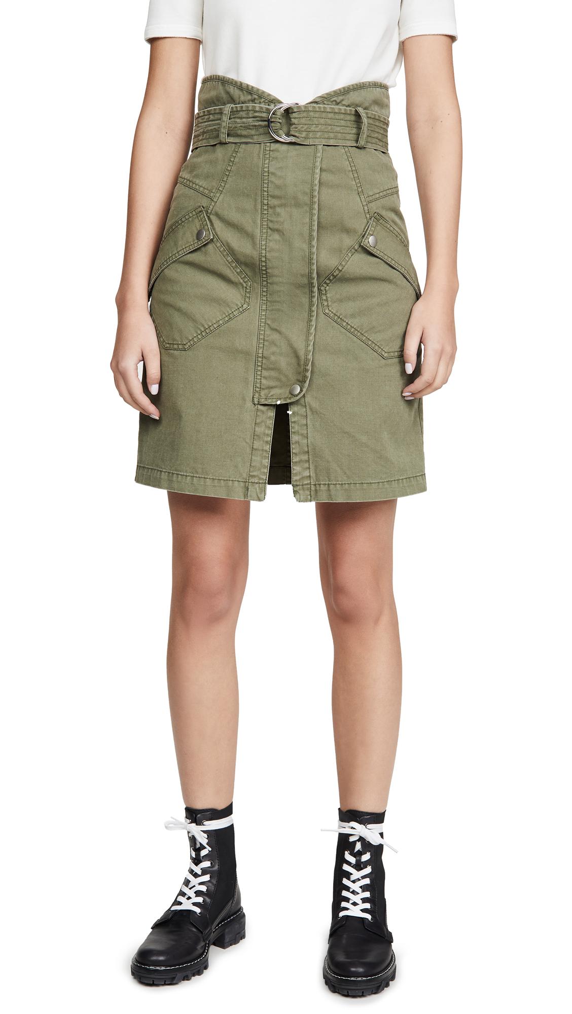 Buy Marissa Webb online - photo of Marissa Webb Brooke Heavy Canvas Long Skirt
