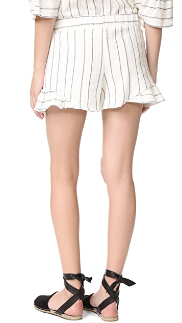 Maven West Ruffle Shorts