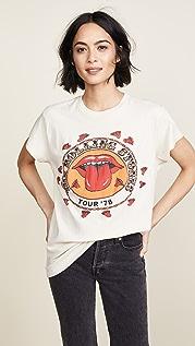 MADEWORN ROCK Футболка Rolling Stones 1978 Rock с принтом