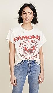 MADEWORN ROCK Футболка Ramones 1979 Rock с принтом