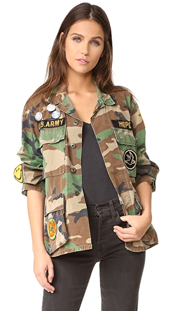 MADEWORN ROCK Make Love Not War Jacket