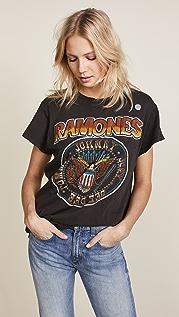 MADEWORN ROCK Ramones Tee