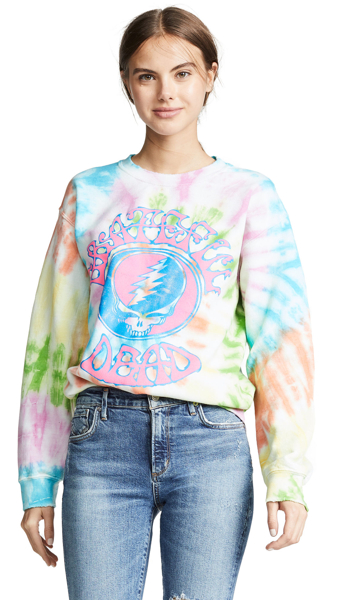 MADE WORN Grateful Dead Tie Dye Sweatshirt
