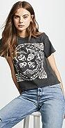 MADEWORN ROCK Kiss 短款 T 恤