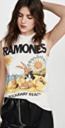 MADEWORN ROCK Ramones 短款 T 恤