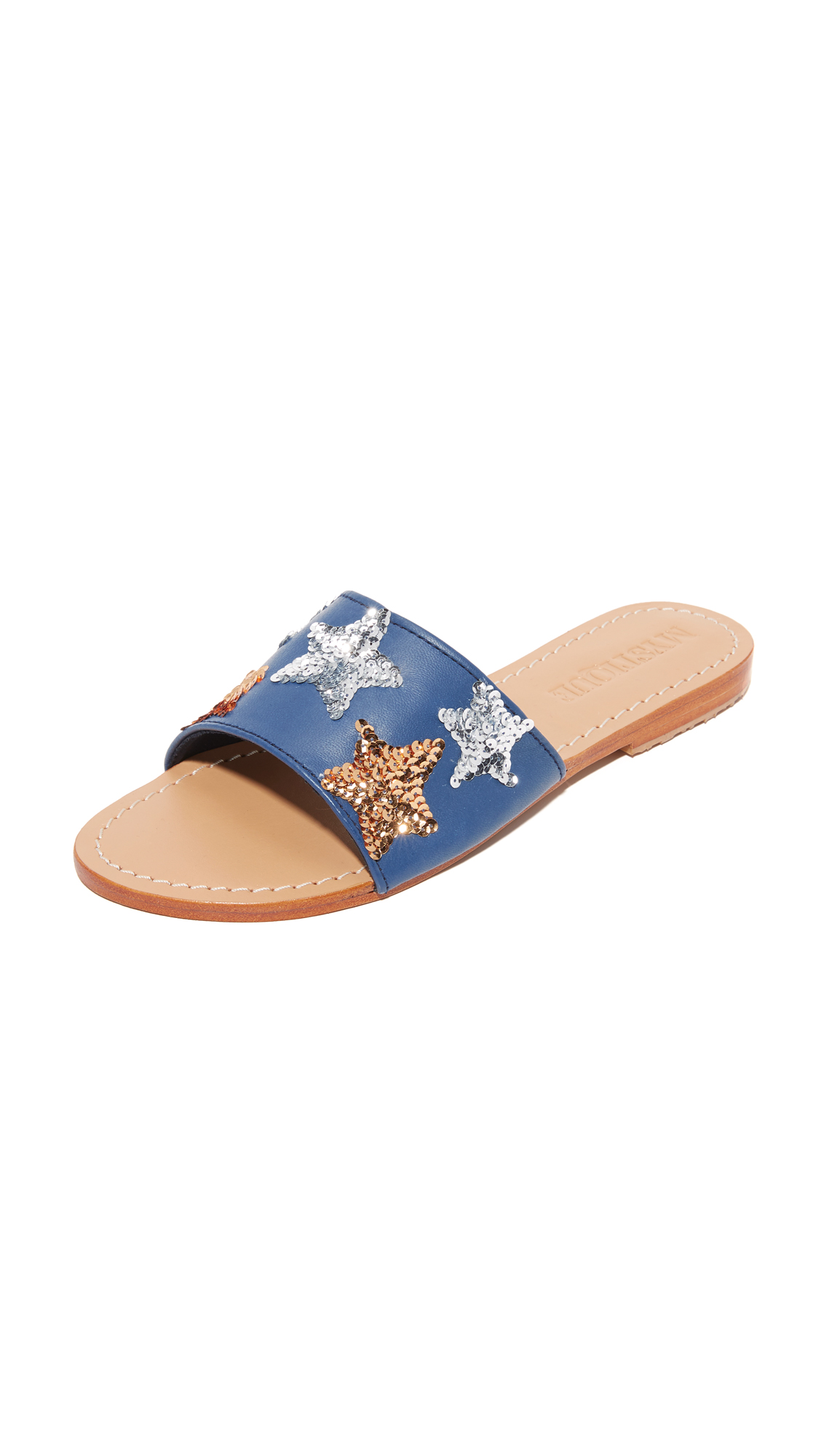 Mystique Star Slides - Navy