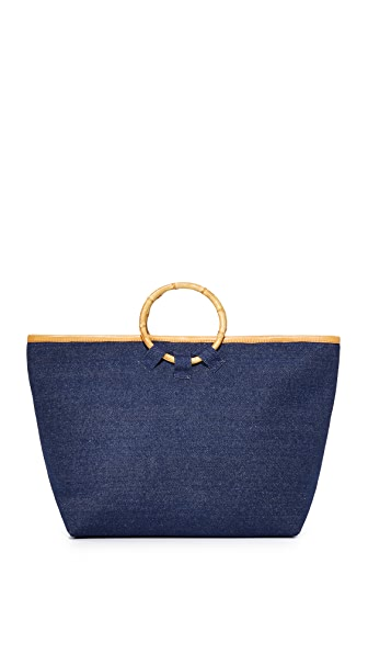 Mystique Denim Tote - Dark Denim