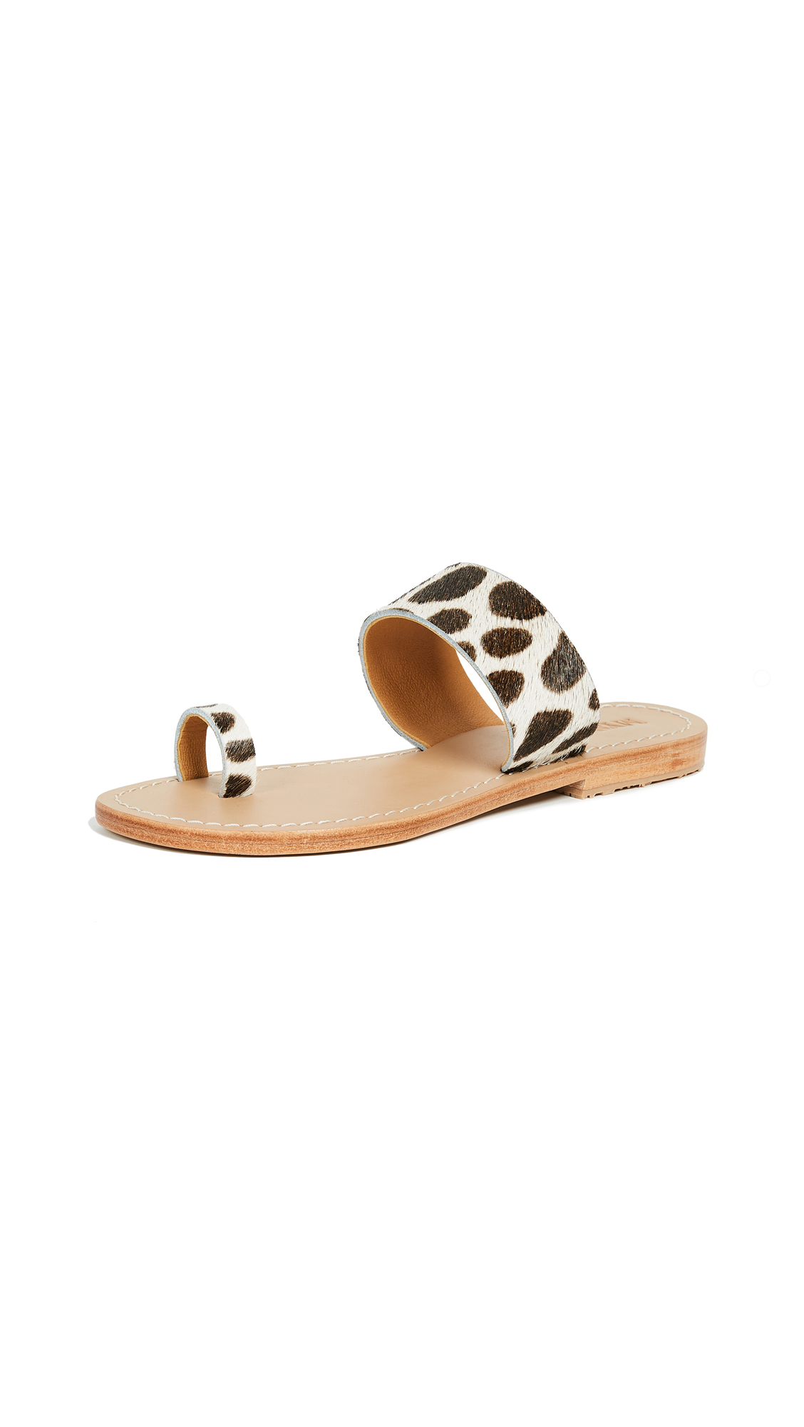 Mystique Toe Ring Sandals - Cheetah