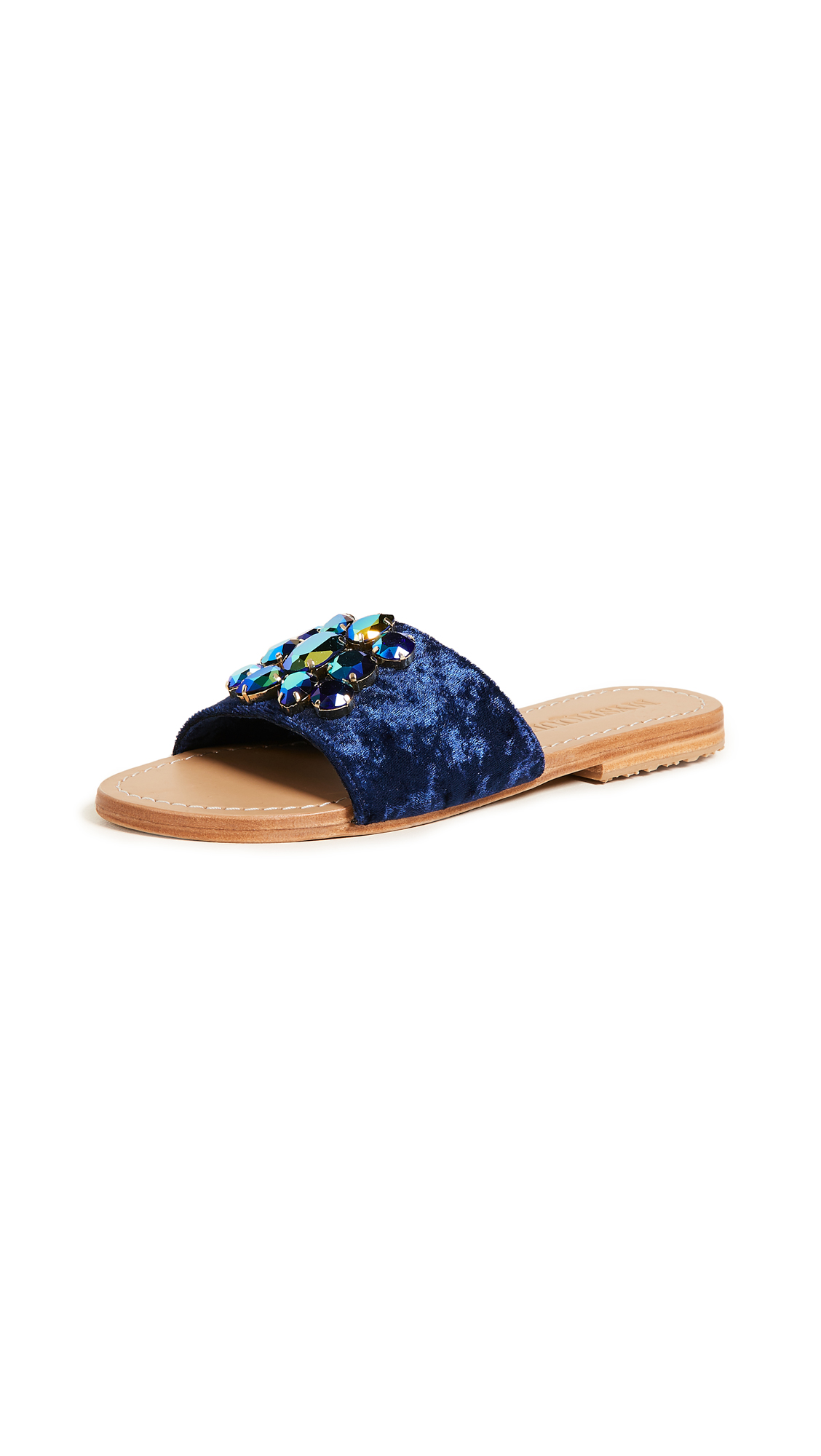 Mystique Jewel Slides - Navy