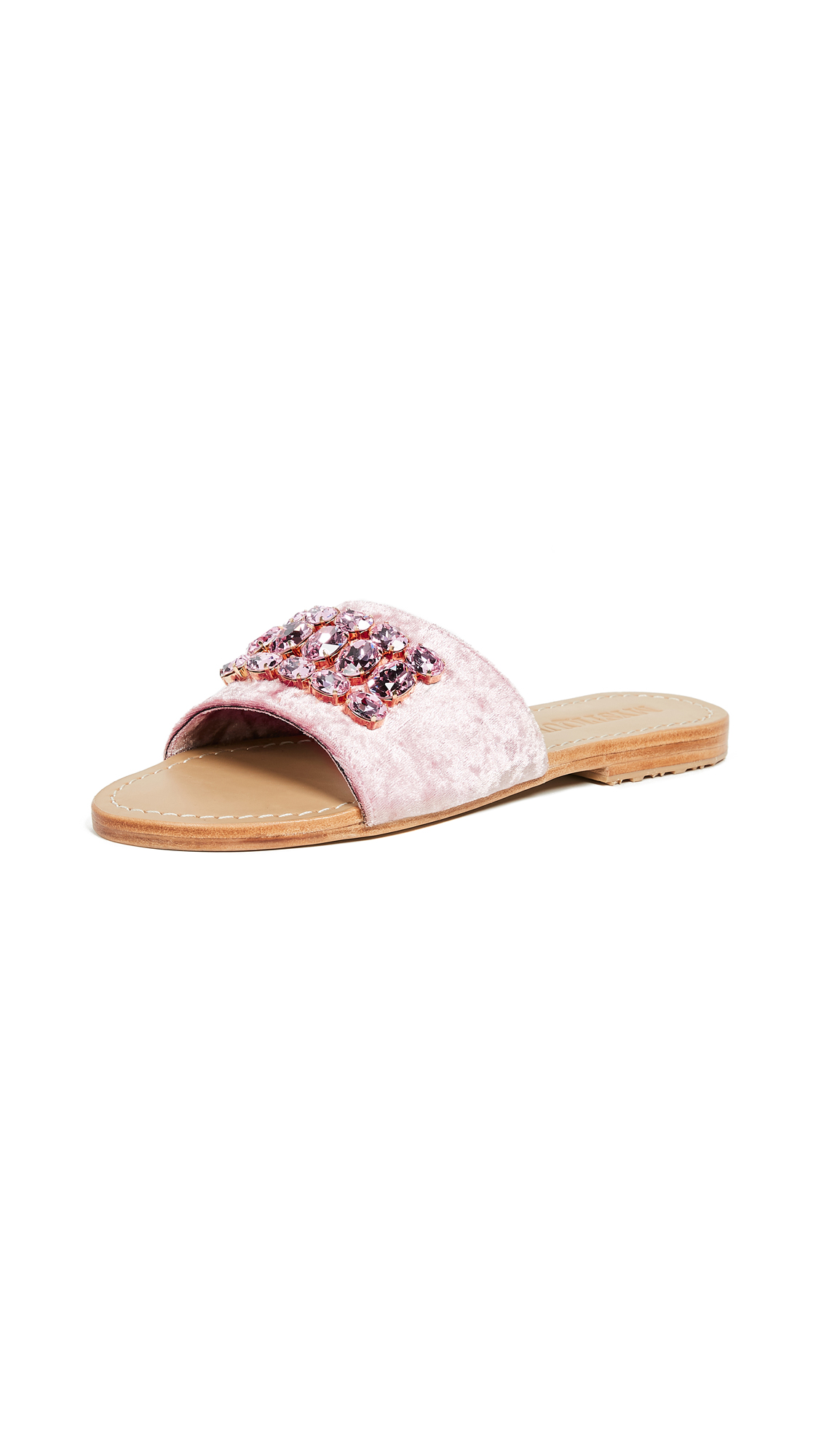 Mystique Jewel Slides - Pink