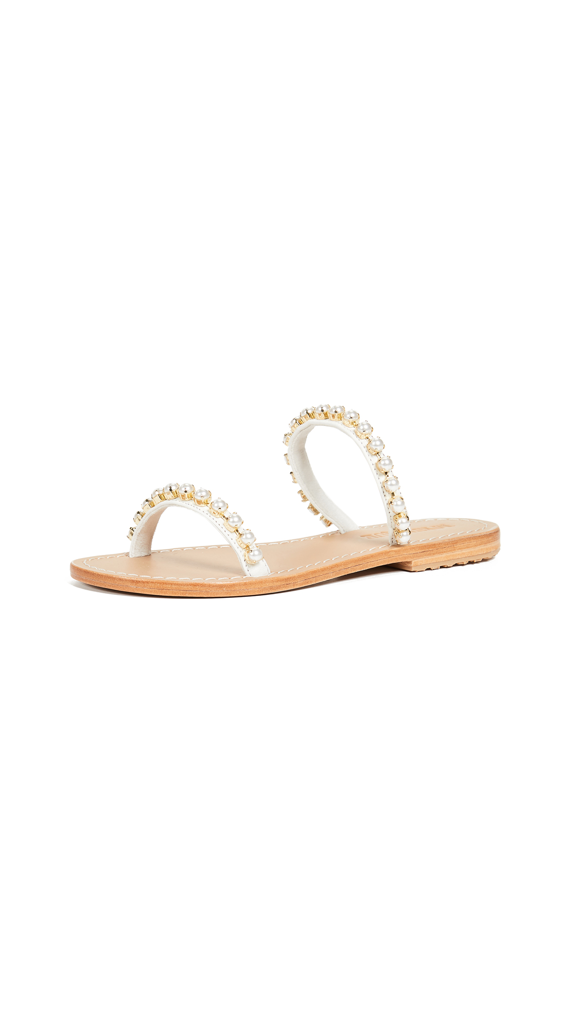 Mystique Pearl Two Strap Sandal