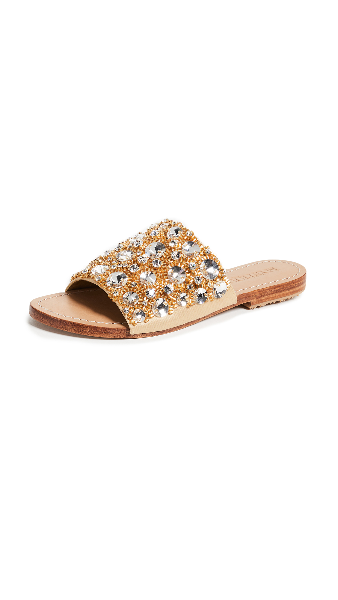 Mystique Jewel Slides - Gold
