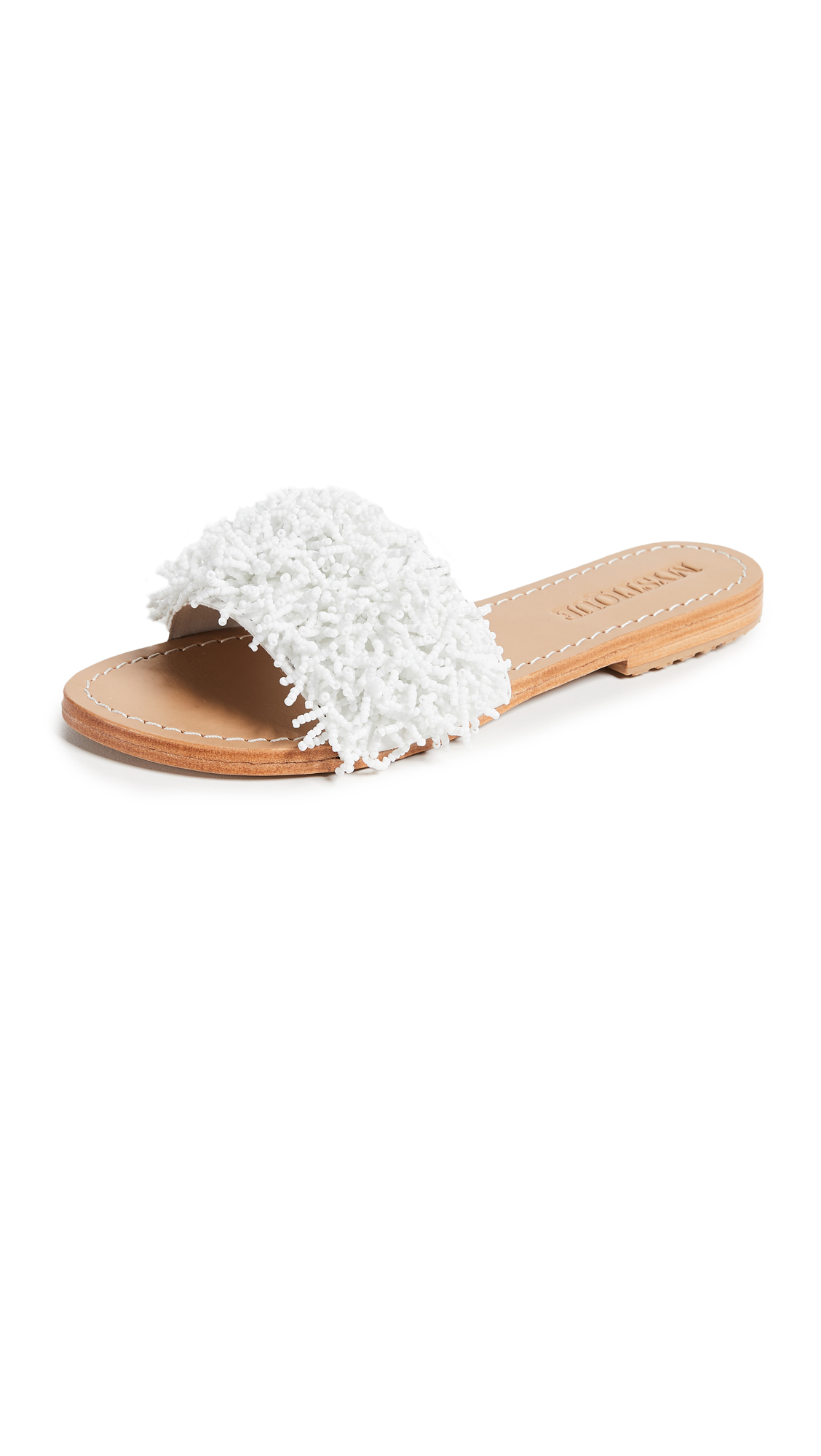 Mystique Coral Slides - White