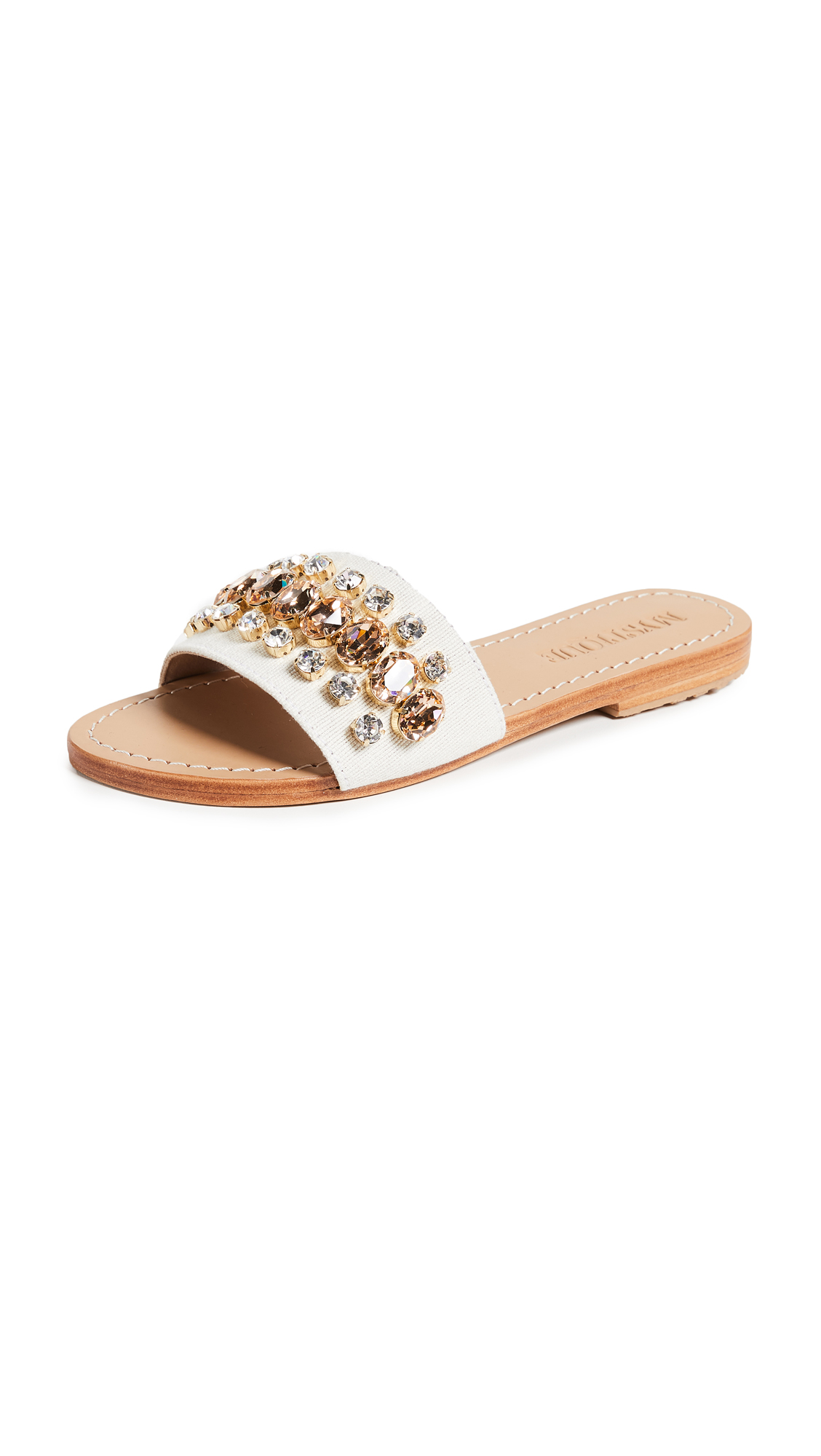 Mystique Jewel Slides - Twill