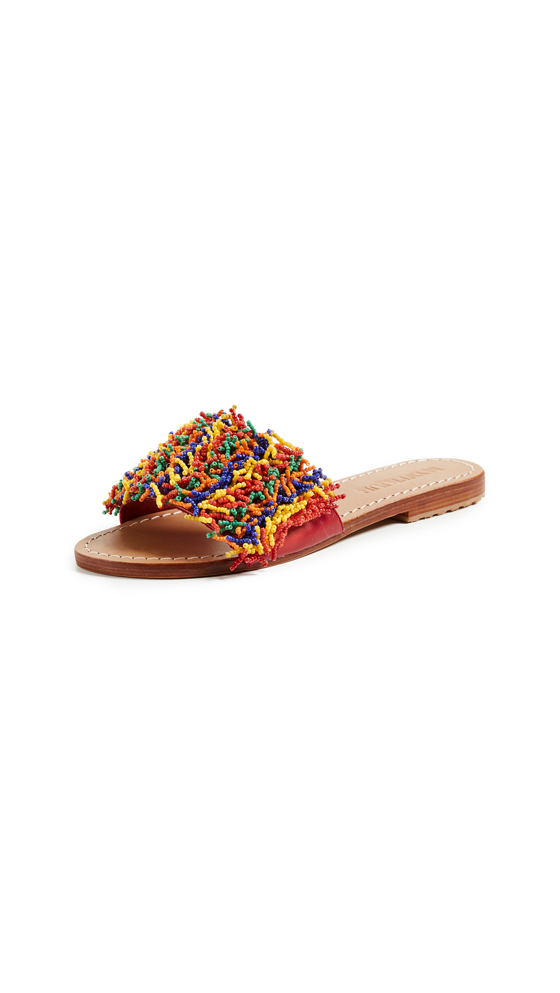 Mystique Coral Slides - Bright Multi