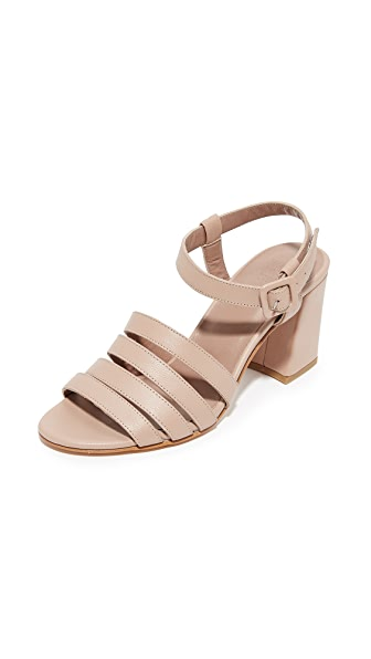 Maryam Nassir Zadeh Palma High Sandals - Nude