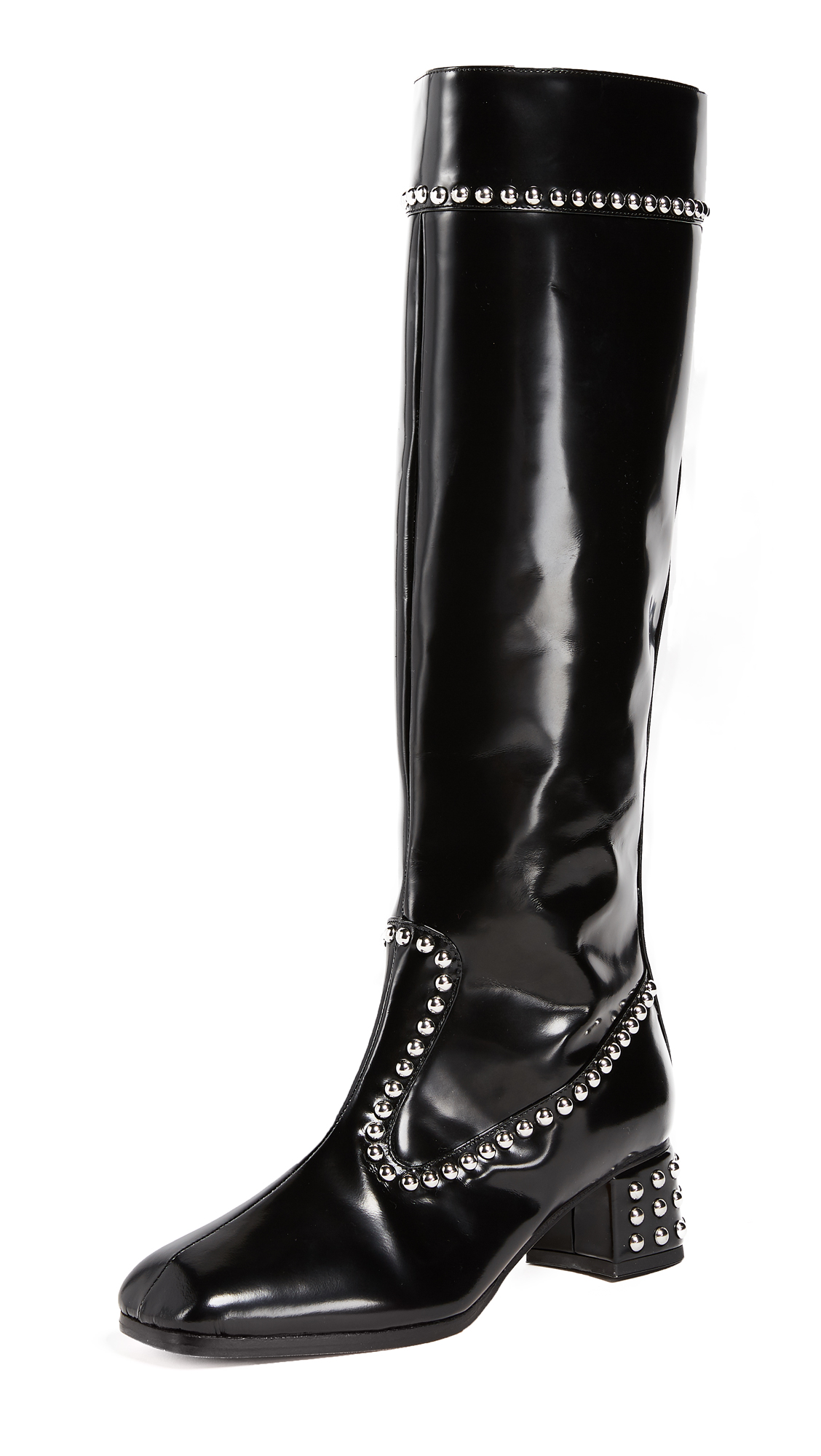 Maryam Nassir Zadeh Kiki Knee High Boots - Black