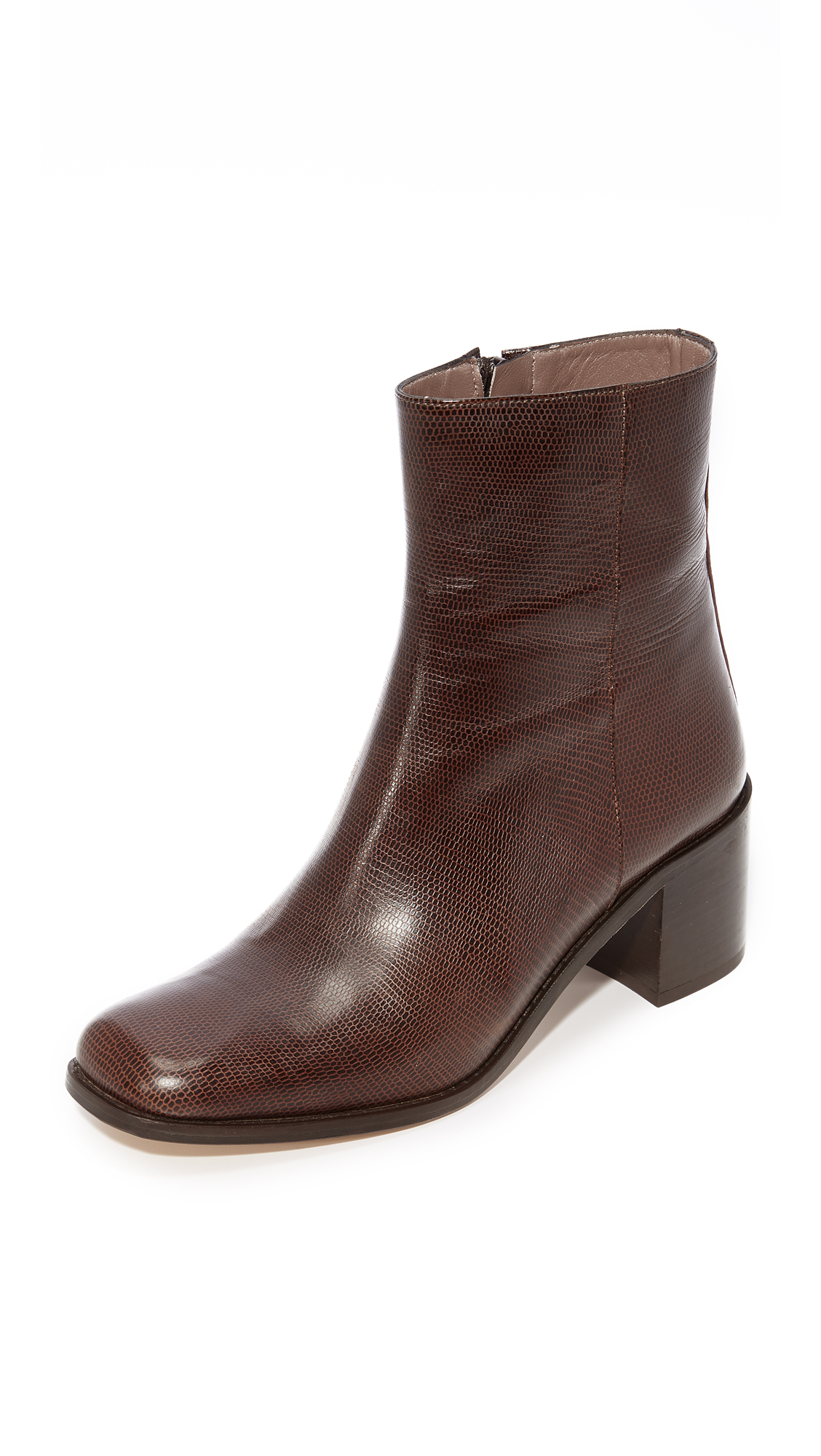 Maryam Nassir Zadeh Fiorenza Ankle Booties - Brown