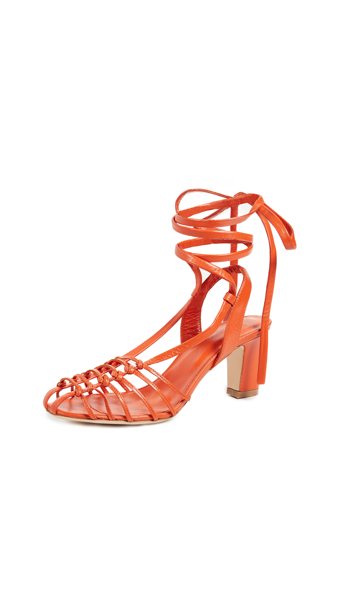 Maryam Nassir Zadeh Marabel Sandals - Flame