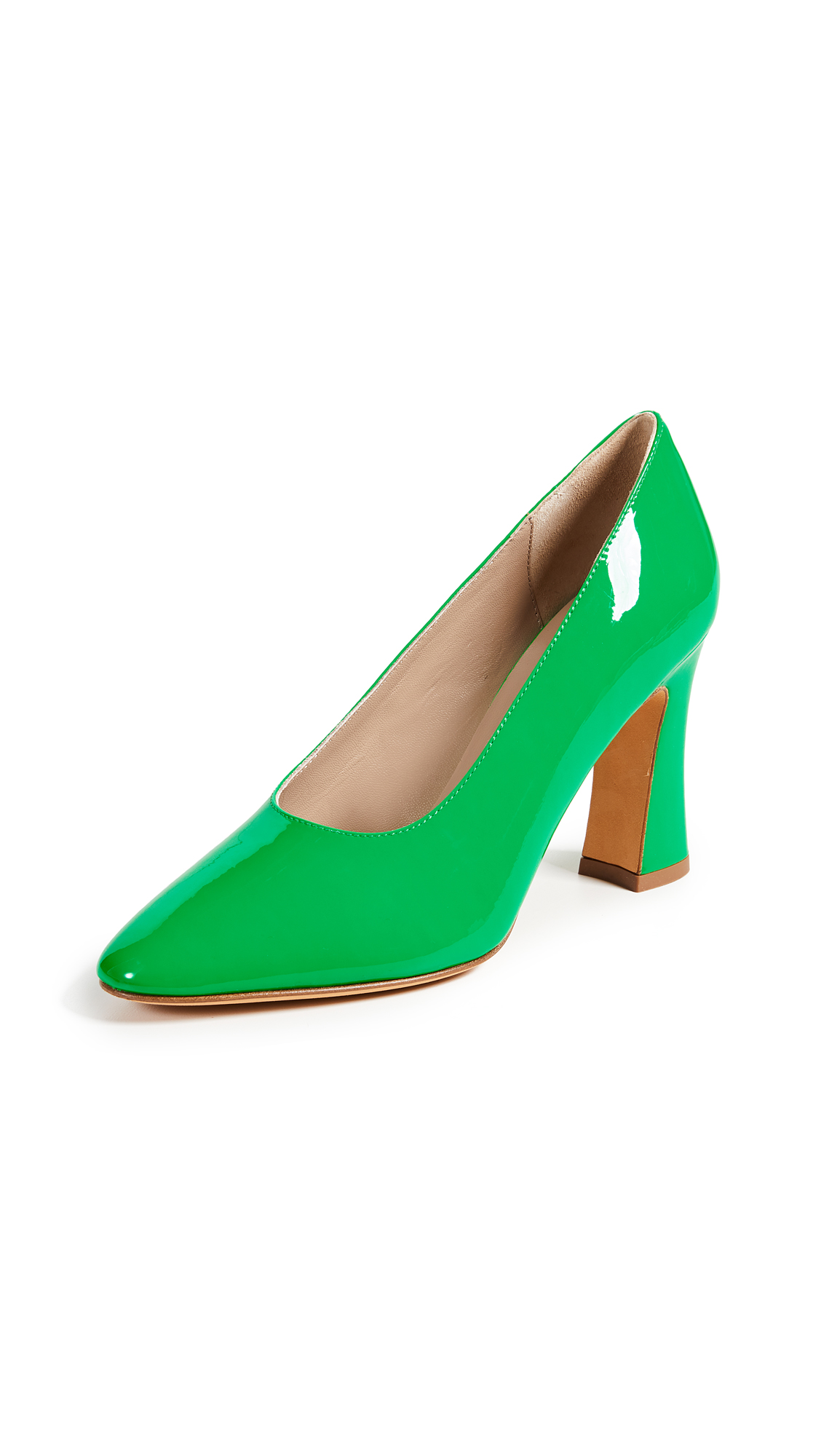 Maryam Nassir Zadeh Isa Pumps - Neon Green