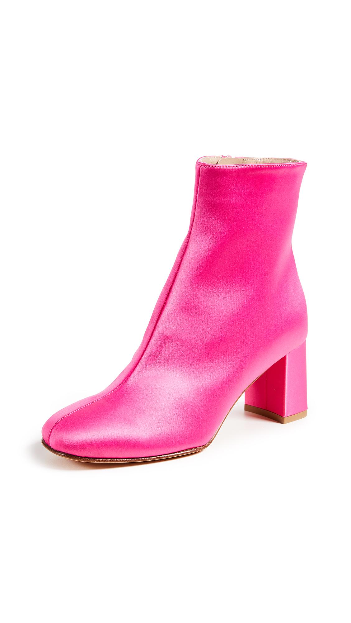 Maryam Nassir Zadeh Agnes Booties - Pink