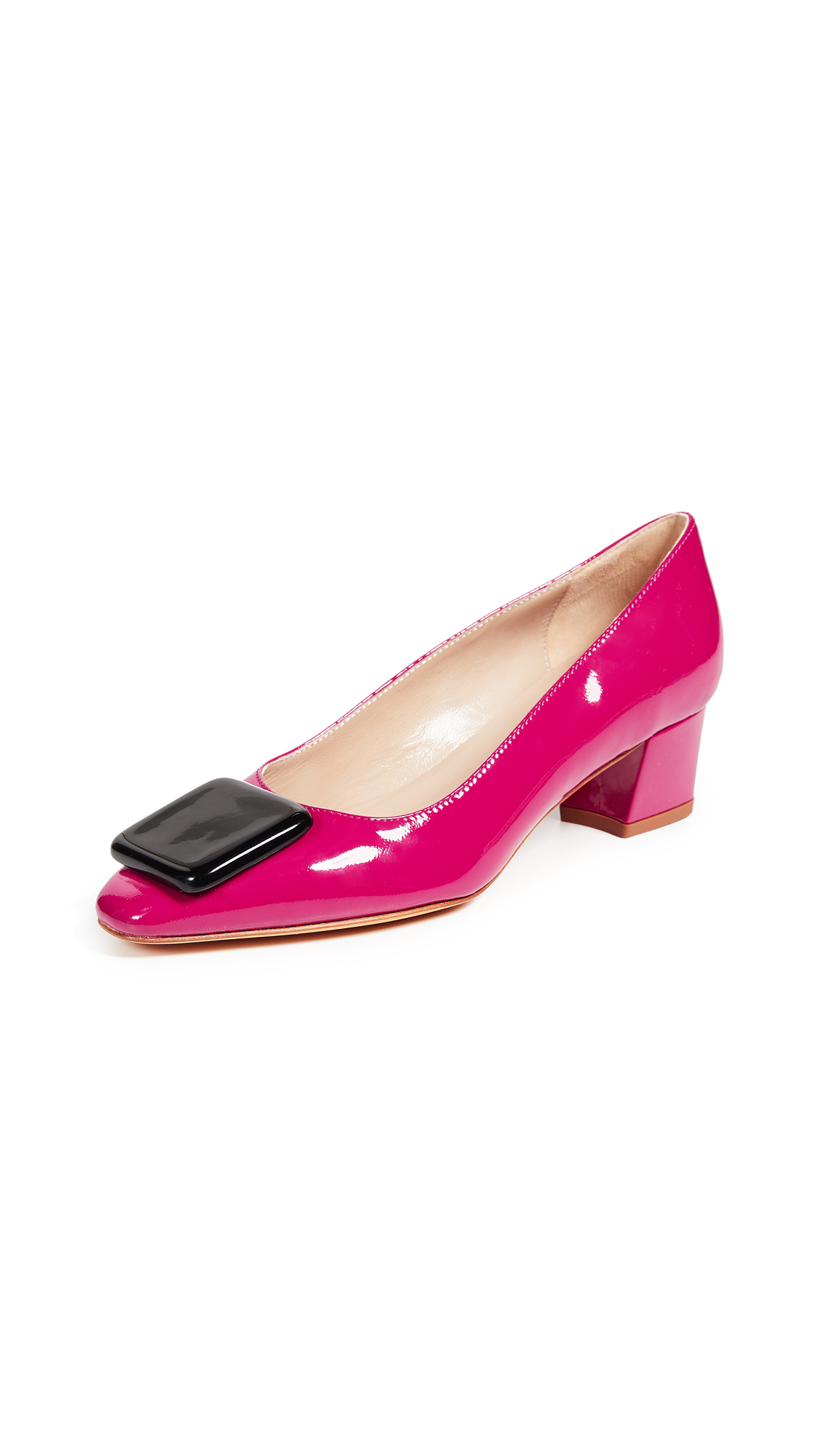 Maryam Nassir Zadeh Cecil Pumps - Berry