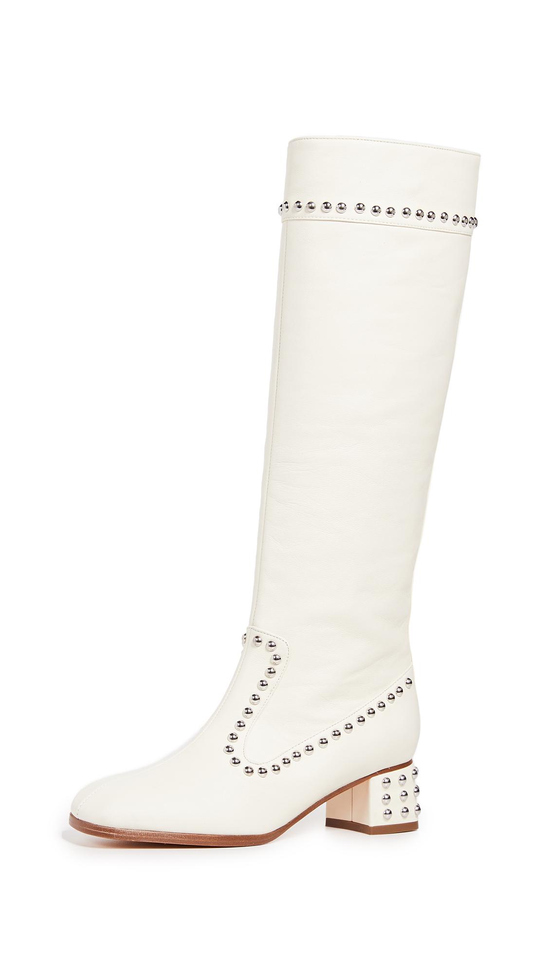 Maryam Nassir Zadeh Kiki Boots In Cream