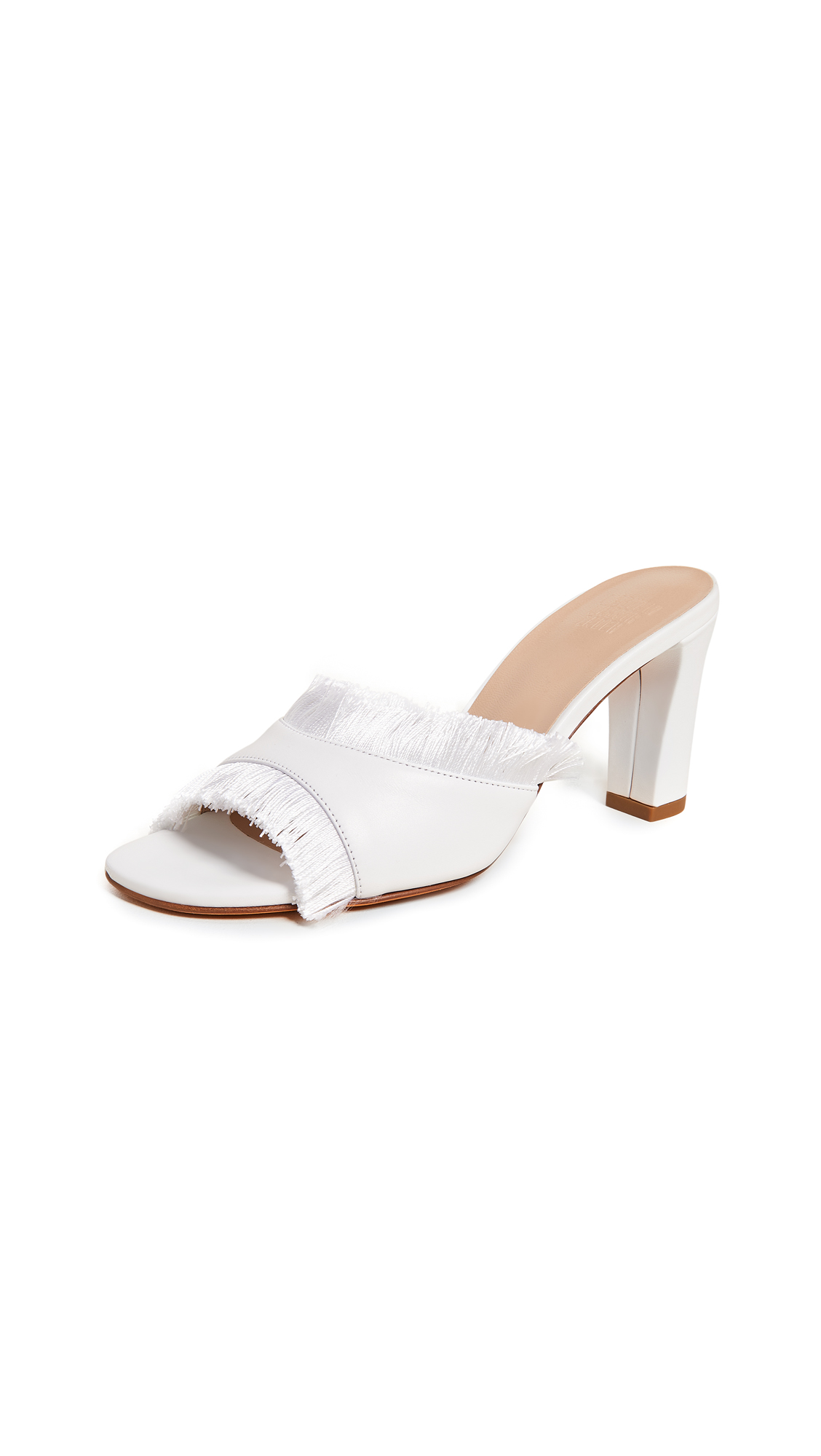 Maryam Nassir Zadeh Inga Sandals - White