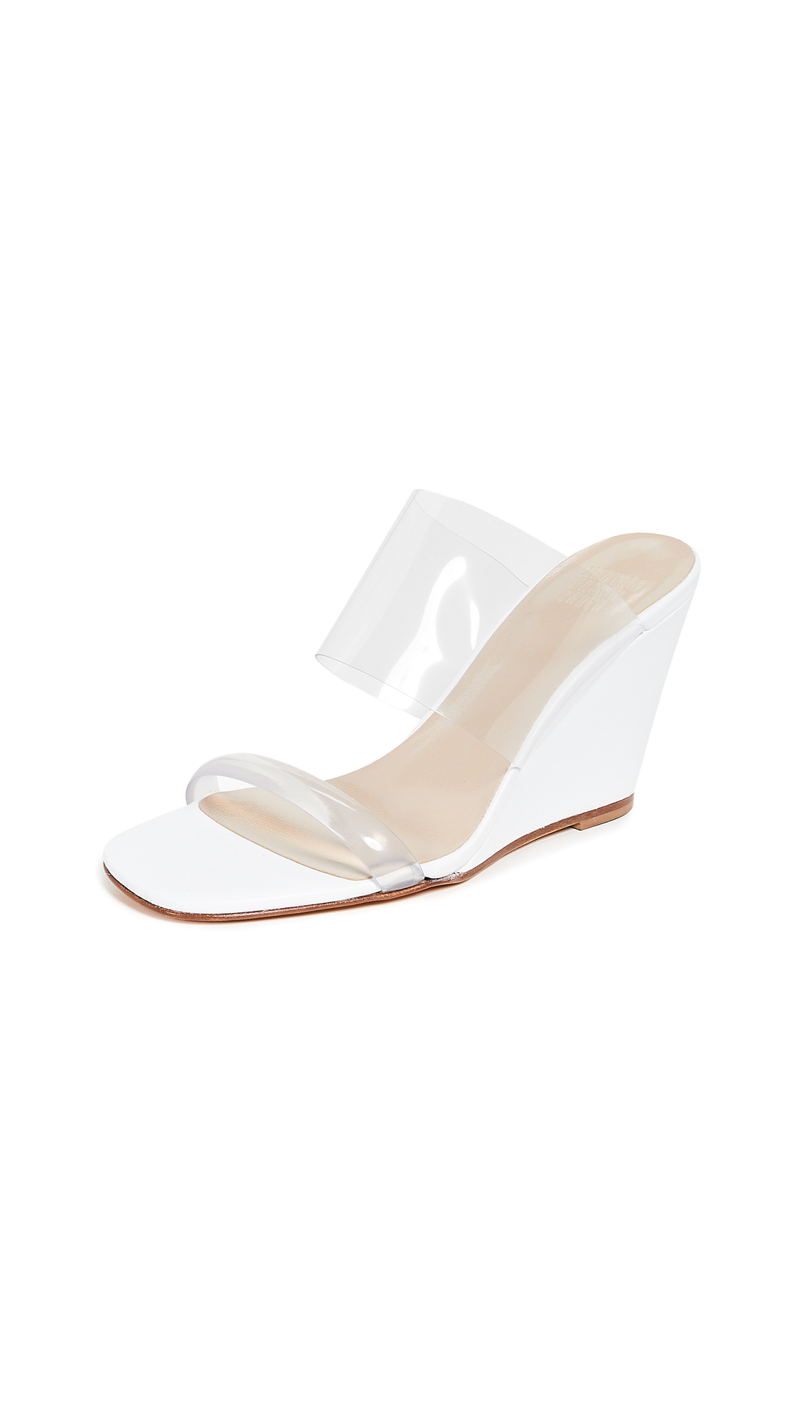 Maryam Nassir Zadeh Olympia Wedges - White