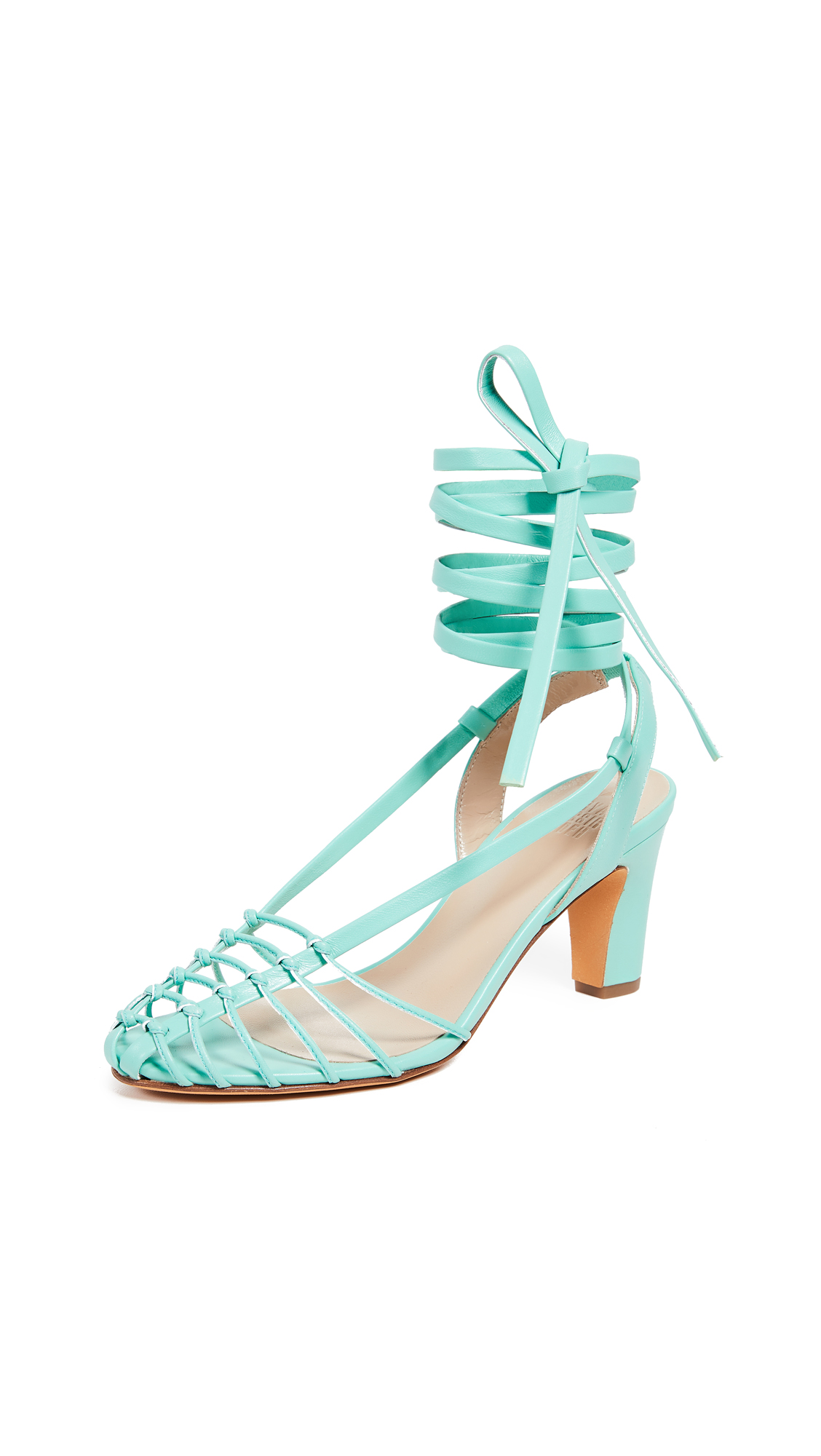 Maryam Nassir Zadeh Maribel Sandals - Seafoam