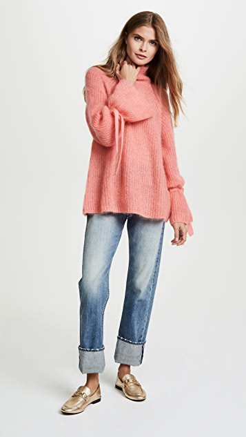 Naadam Oversized Turtleneck Sweater