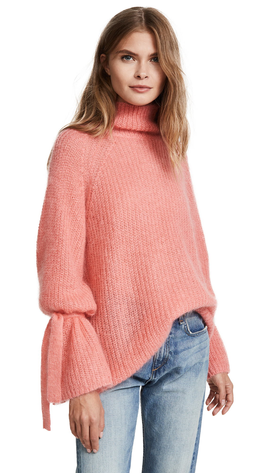 Naadam Oversized Turtleneck Sweater