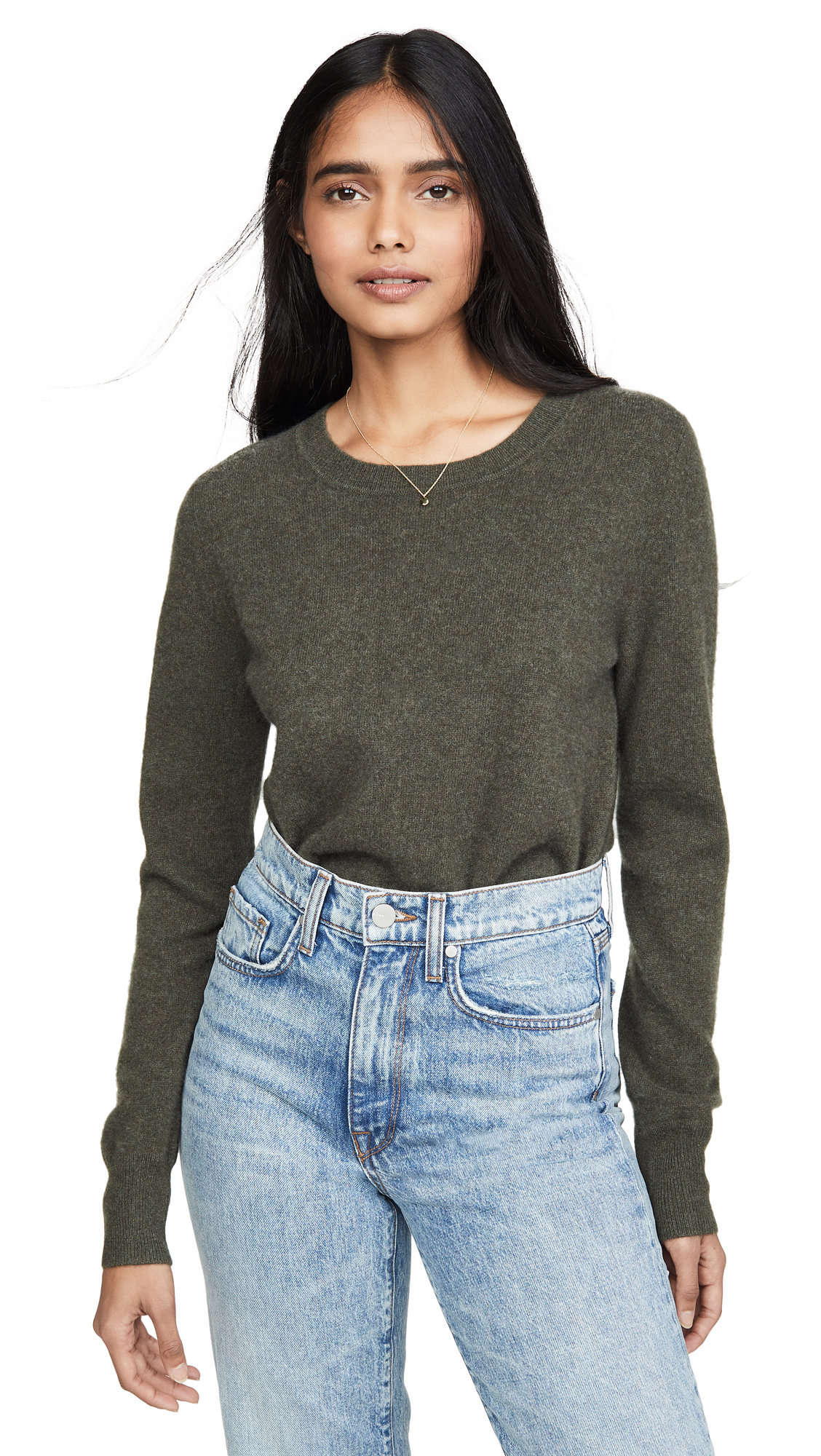Buy Naadam online - photo of Naadam Cropped Crew Cashmere Sweater