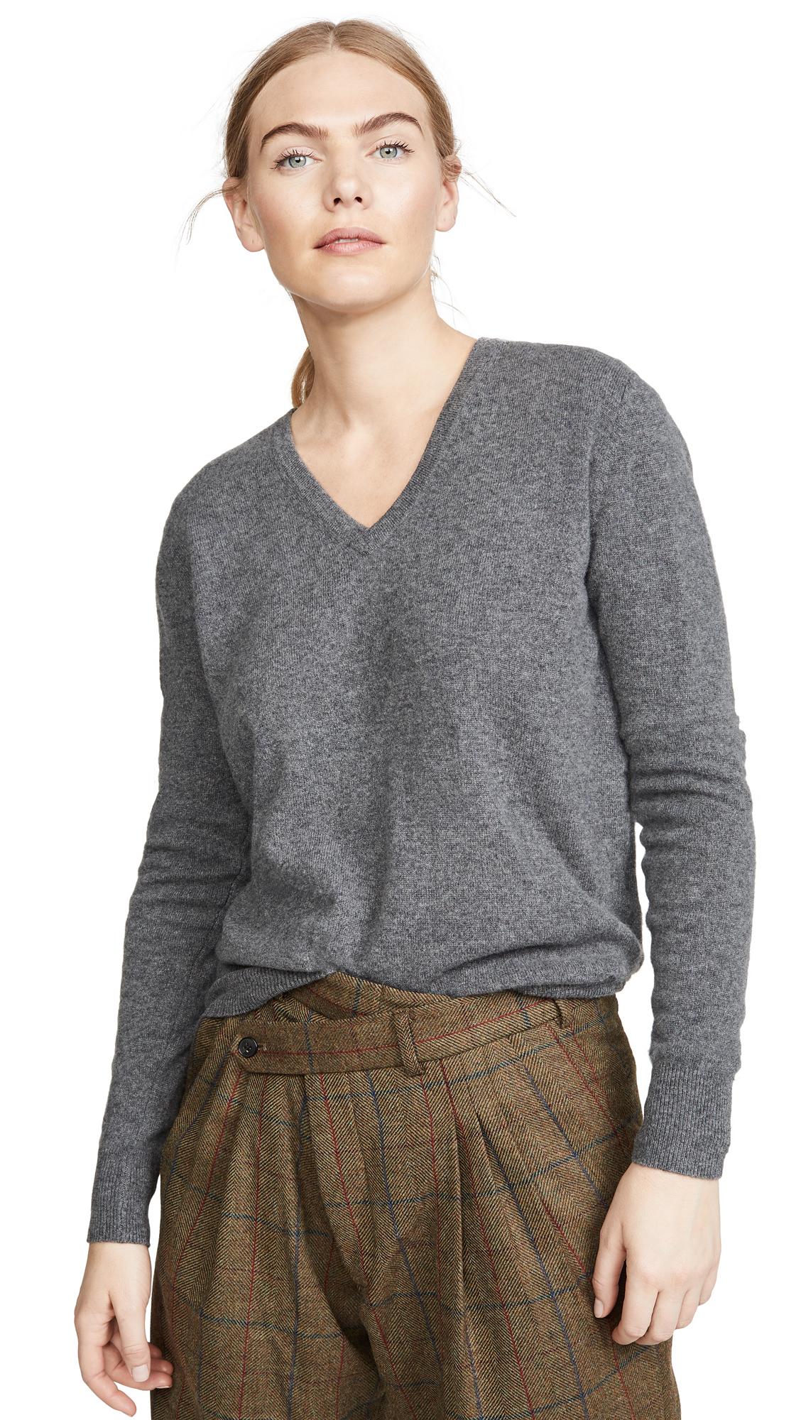 Buy Naadam online - photo of Naadam V Neck Cashmere Pullover