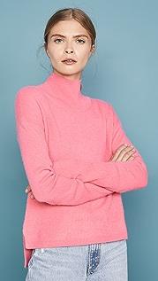 Naadam Кашемировый свитер с приспущенными плечами