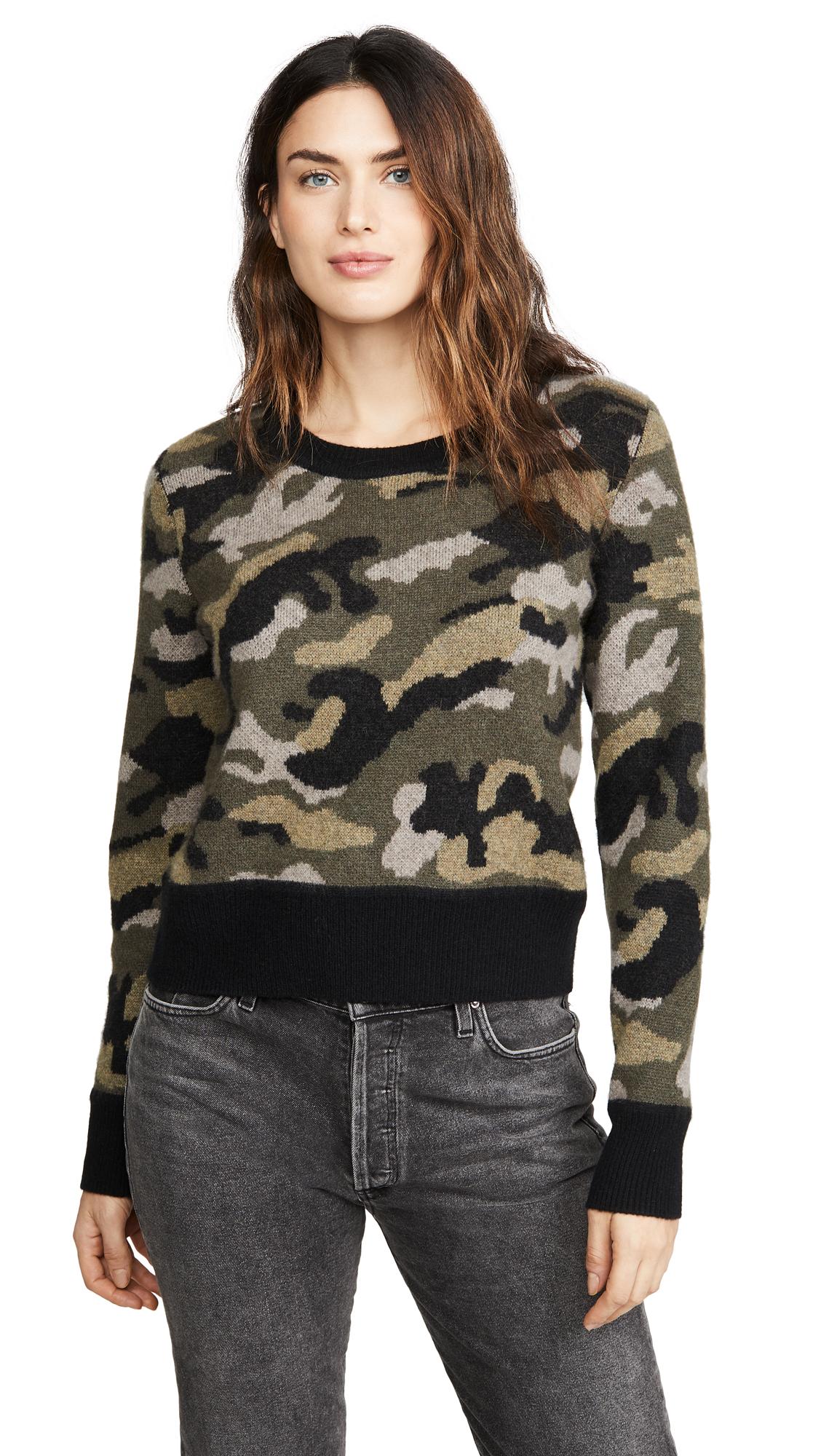 Buy Naadam online - photo of Naadam Camo Cashmere Pullover