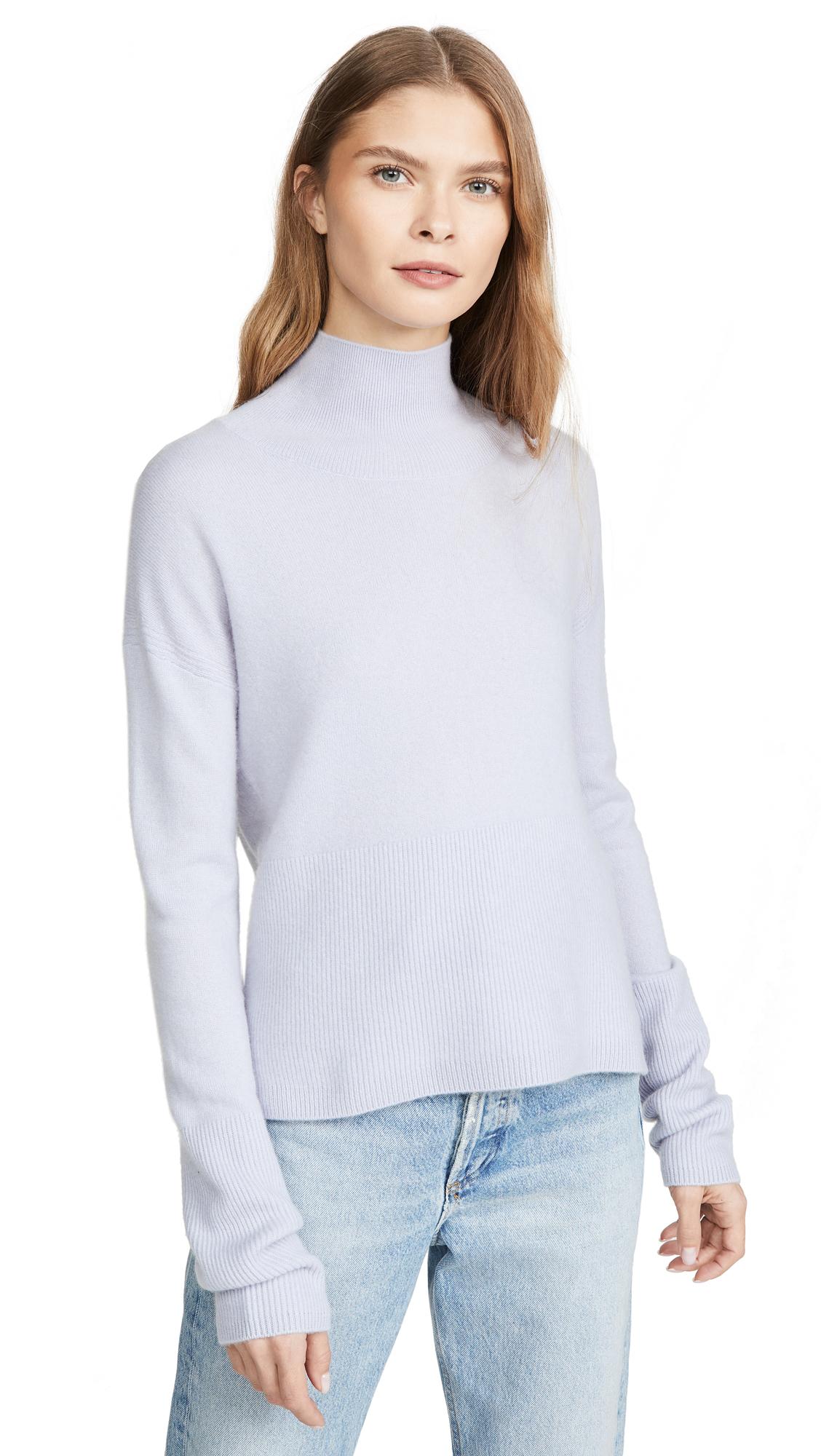 Buy Naadam online - photo of Naadam High Low Turtleneck Cashmere Pullover