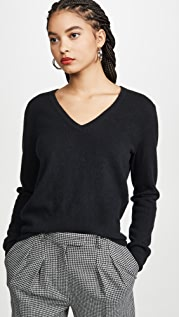 Naadam Cashmere V Neck Sweater