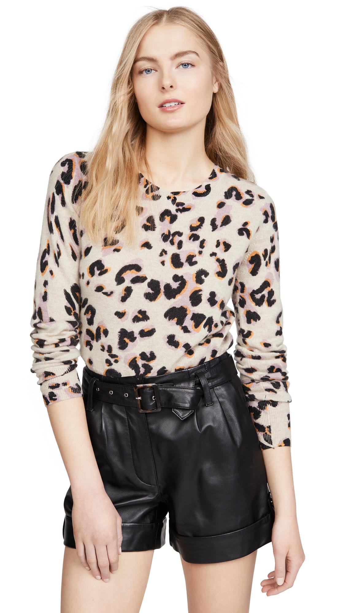Buy Naadam online - photo of Naadam Leopard Cashmere Sweater