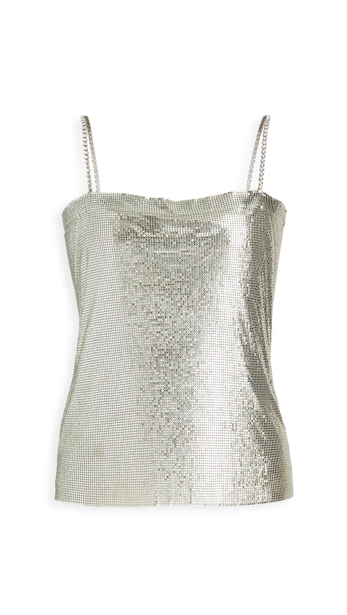 Nafsika Skourti Metal Mesh Top - 50% Off Sale